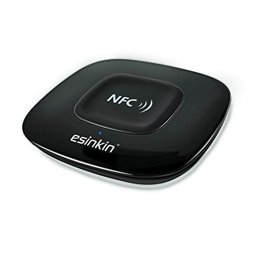 Esinkin Bluetooth Receiver, Bluetooth Audio Adapter (NFC Enabled) for