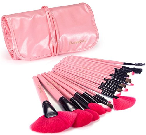 iLoveCos Makeup Brushes Make up Brushes Professional Wool Cosmetic
