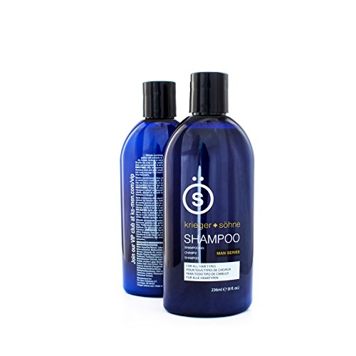 K + S Salon Quality Men's Shampoo - Tea