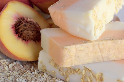 Get A Free Handmade Peach Soap Sample!