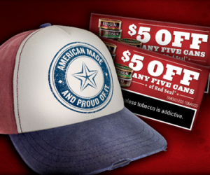 Get A Red Seal American Made Hat For FREE! Hurry!