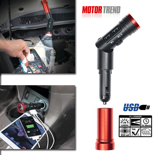 Get A FREE USB Charger and Magnetic Rechargeable Flashlight!