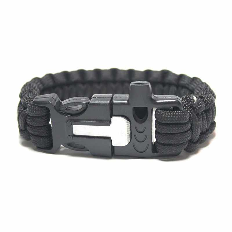 Get A Free Paracord Survival Bracelet With Fire Starter And Whistle!