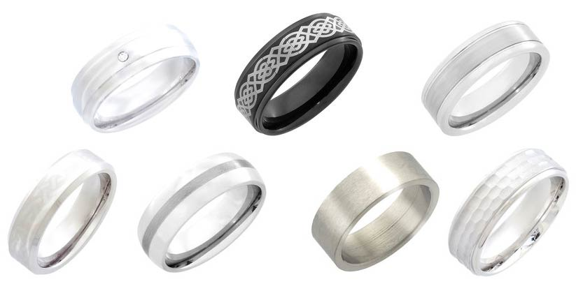 Get Titanium, Tungsten or Stainless Steel Ring For FREE!