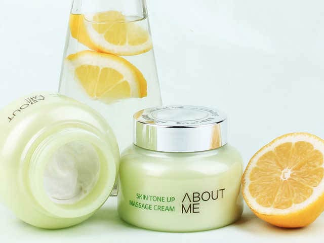 About Me: Brightening Massage Cream
