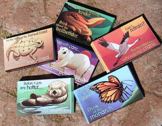 Get Free Endangered Species Condoms!