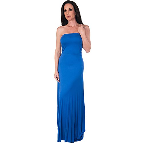 Agiato Women\'s 3-in-1 Maxi Dress Blue Small
