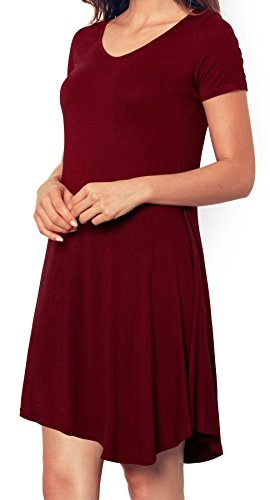Angerella Dress For Women Casual Short Sleeve T-shirt Loose