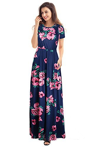 AnniBlue Womens Summer Maxi Dresses For Women Party Long