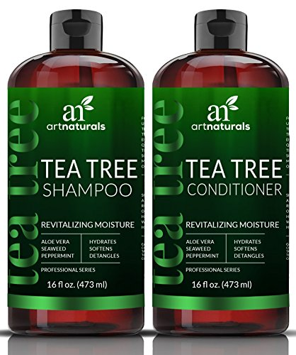 ArtNaturals Tea-Tree-Oil Shampoo and Conditioner Set - 2 x