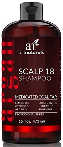 ArtNaturals Dandruff Shampoo, Coal Tar with Argan Oil, Scalp18
