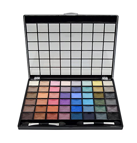 BYS 48 Shade Large Eyeshadow Palette with 2 double