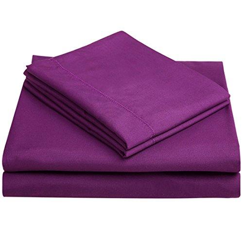 Balichun Deep Pocket Bed Sheet Set Brushed Hypoallergenic Microfiber