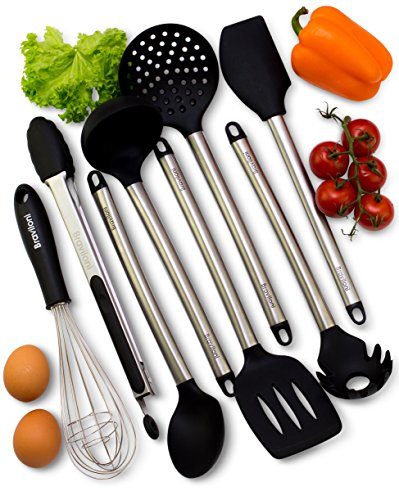 Kitchen Utensils - 8 Piece Cooking Utensils - Nonstick