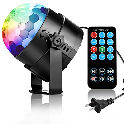 COIDEA Disco Ball Strobe Light Party Lights Disco Lights