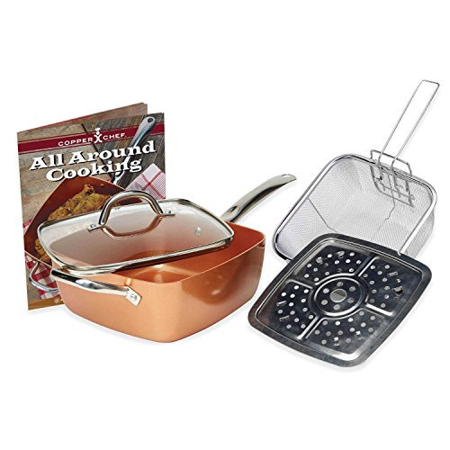 Copper Chef 4 pc system, 6 in 1 pan
