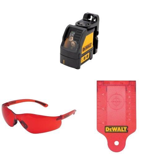 DEWALT DW088K Self-Leveling Cross Line Laser with Enhancement Glasses