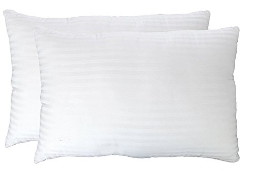 Deluxe Queen Pillows 2 Pack - Hypoallergenic, Plush Down