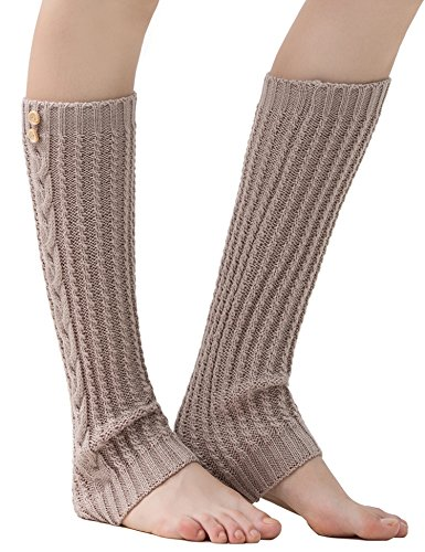Dimore Women's leg warmers Boot Cuff Knit Boot Cuffsocks