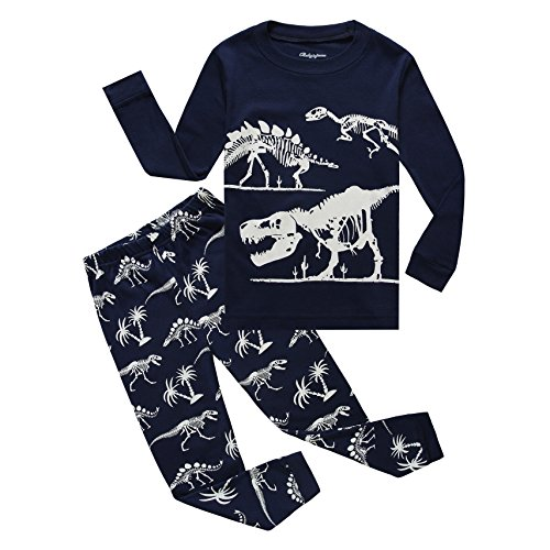Boy Pajamas Cotton Dinosaur Toddler Pjs Sleepwear Kids Clothes