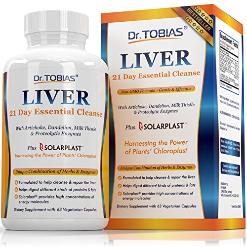 Dr. Tobias Liver Support - Cleanse  Detox Pills