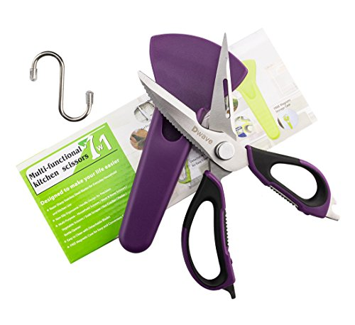 Dwave Kitchen Shears Heavy Duty Take Apart For Easy