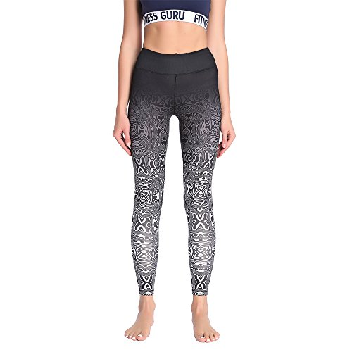 Yoga Pants, FEIVO Women's Power Flex Yoga Pants Tummy