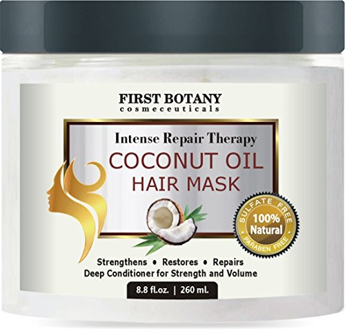 Coconut Oil Hair Mask, 8.8 fl. oz. Restorative Hair