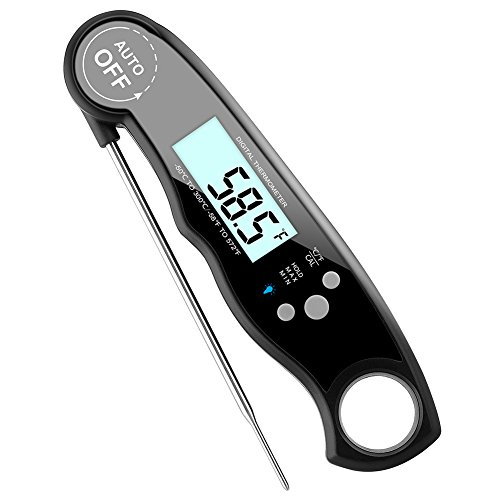 GDEALER Waterproof Meat Thermometer Digital Super Fast Instant Read