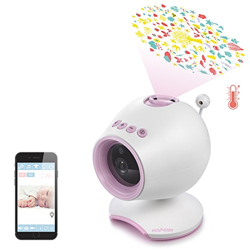 HOLABABY P1 HD Video Baby Monitor Camera - Monitor