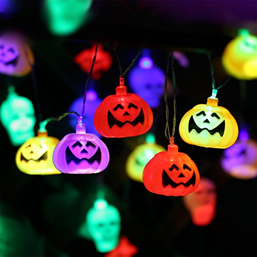 Halloween Pumpkin Lantern Set (2 Packs) 10 Foot Pumpkin