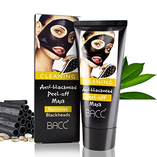 Blackhead Remover Mask,Purifying Quality Black Peel off Charcoal Mask,Mud
