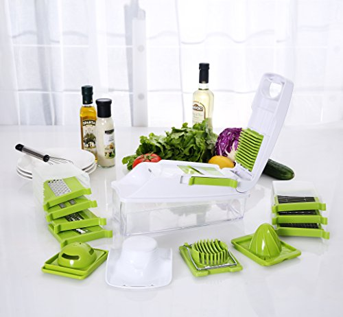ISSIKI Kitchen Mandoline Slicer Multipurpose Manual Fruit and Vegetable