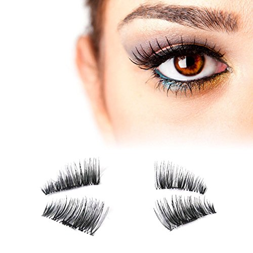 False Magnetic Eyelashes - no Glue Mess-Free Reusable -