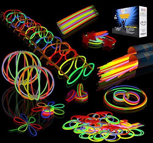 Joyin Toy 200 8'' Glowsticks Glow Sticks Bracelets Glow