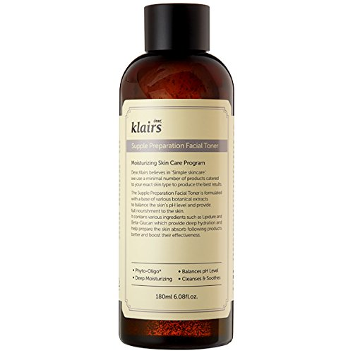 [KLAIRS] Supple Preparation Facial Toner, toner, moisturizer, without paraben
