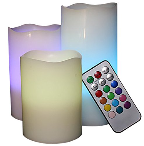 SALE!! LED Lytes FLAMELESS CANDLES, MULTI COLOR CHANGING REMOTE