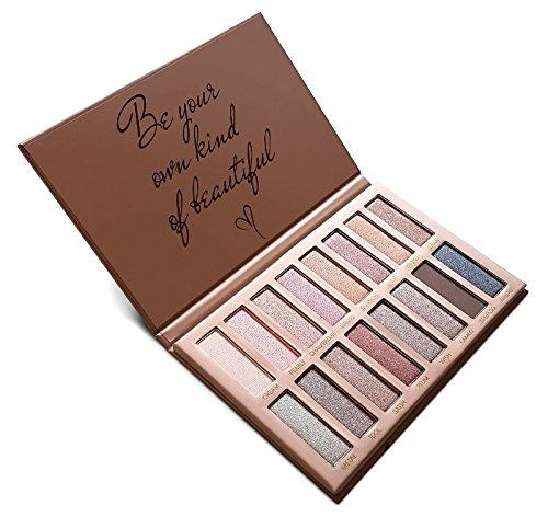 Best Pro Eyeshadow Palette Makeup - Matte + Shimmer