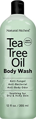 Antifungal Tea Tree Oil Body Wash Peppermint  Eucalyptus