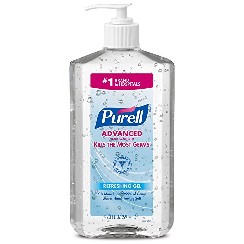Purell 3023-12-EC Advanced Hand Sanitizer, 20 oz. Bottles (Pack