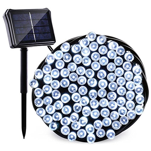 Qedertek Solar  Battery String Lights, 72ft 200 LED