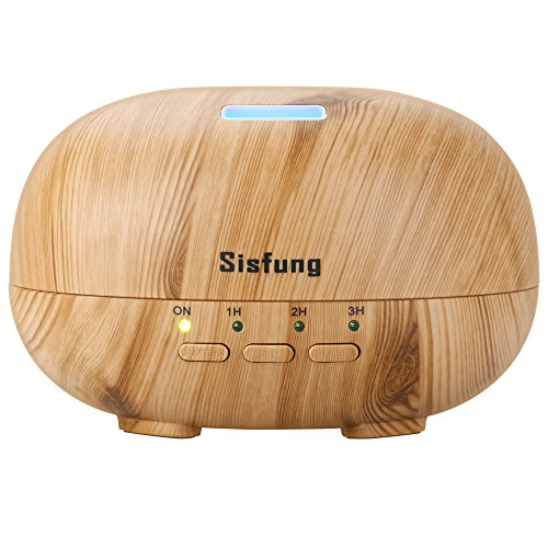 Sisfung Essential Oil Diffuser,Aromatherapy Cool Mist Diffuser with 7