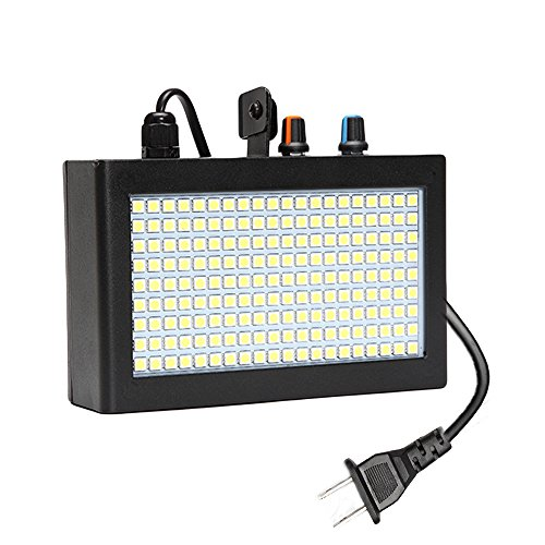 Strobe Light, SOLMORE 180 LED Flash Lights Stage Lights