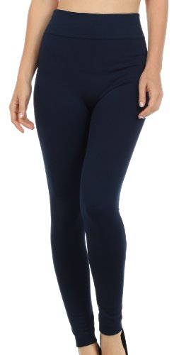 Sakkas 003GL Warm Soft Fleece Lined High Waist Leggings