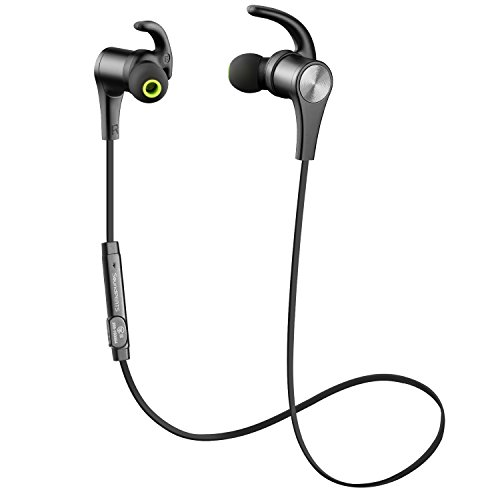 SoundPEATS Bluetooth Headphones In Ear Wireless Earbuds 4.1 Magnetic