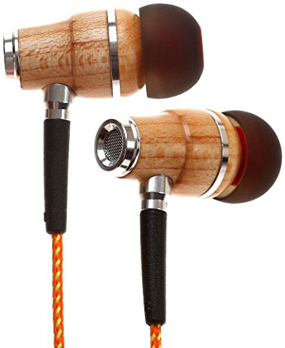 Symphonized NRG Premium Genuine Wood In-ear Noise-isolating Headphones with