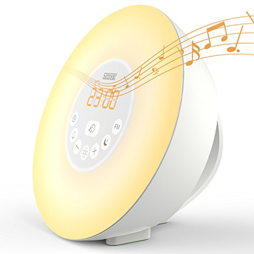 Sztook Wake Up Light Alarm Clock,Sunrise Alarm Clock With