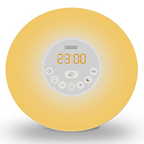 Sunrise Alarm Clock, Sztook Wake Up Light, Alarm Clock
