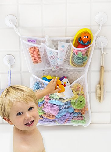 Tub Cubby Bath Toy Organizer - XL Baby Bath