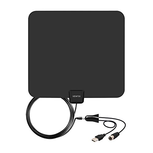 Amplified HDTV Antenna- VIEWTEK Digital Indoor TV Antennas, 50